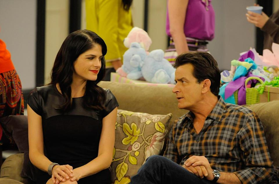 <p>Selma Blair was also said to be unimpressed with the work ethic of her co-star Charlie Sheen, leading to reports he fired her by sending the raven-haired beauty an expletive-filled text message. The actress - who played Charlie's girlfriend Kate Wales on the FX comedy - departed the show in June 2013 and just a few months later was said to be plotting a $1.2million lawsuit over loss of earnings. <i><i>[Copyright: REX Features]</i></i></p>