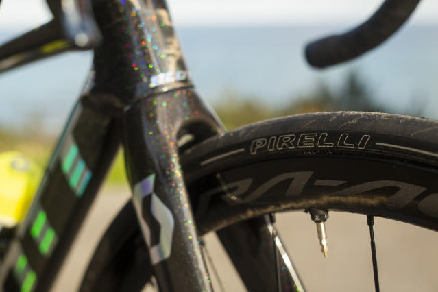 Pirelli supply the world champion with tyres