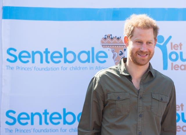 Prince Harry gives virtual address to International Aids conference