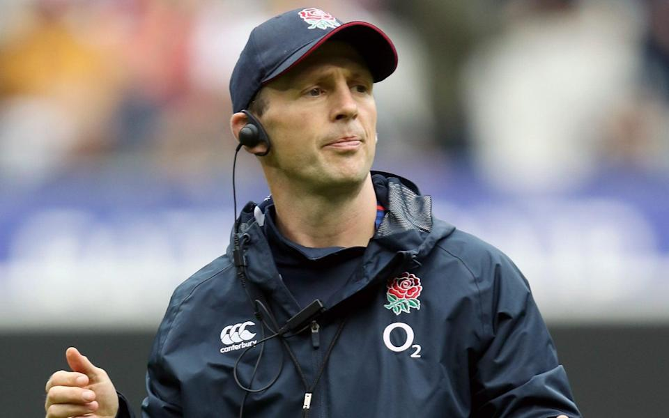 Simon Amor had been England's attack coach since the 2019 Rugby World Cup - GETTY IMAGES