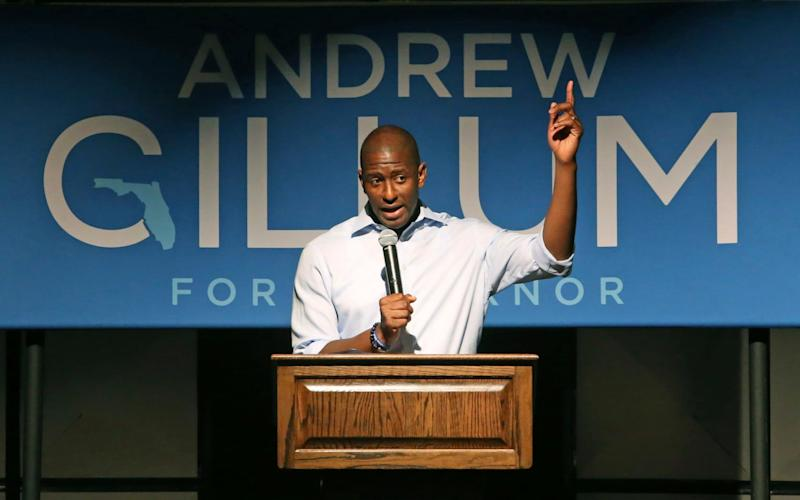 Andrew Gillum abandons his run to become Florida's first black governor - FR127919 AP