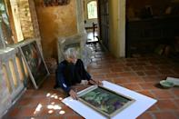 89-year-old Vietnamese artist Mong Bich has been lauded overseas for her work, but has been largely overlooked in her home country
