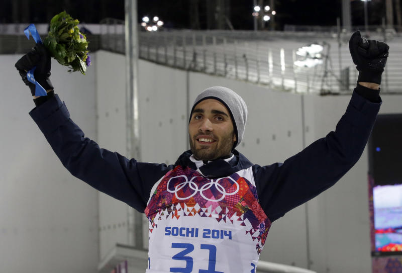 Fourcade wins 2nd biathlon gold of Sochi Olympics