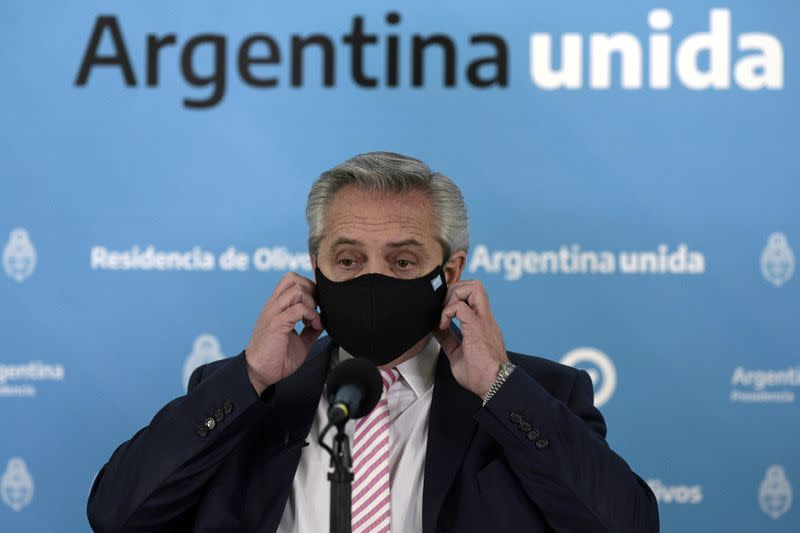 FILE PHOTO: Outbreak of the coronavirus disease (COVID-19), in Argentina