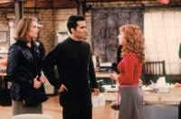 <i>Suddenly Susan </i>was a part of NBC's Must-See TV Thursdays (the <em>Friends </em>and <em>Seinfeld </em>primetime block) from 1996 to 2000 and stars <strong>Brooke Shields </strong>as — you guessed it — Susan, a magazine writer who leaves her fiancé at the altar and is<i> suddenly Susan</i> alone, no attachment to anyone else. The show follows Susan's dating life and her relationships with her coworkers at the magazine played by <strong>Kathy Griffin</strong>, <strong>Nestor Carbonell</strong>, and<strong> Judd Nelson</strong>.