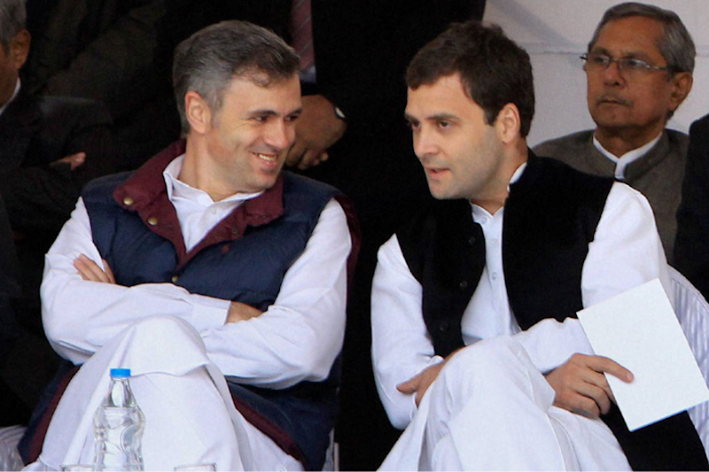 Friends Now, Foes Later: Rahul Gandhi and Omar Abdullah Strike 'Peculiar' Alliance in J&K