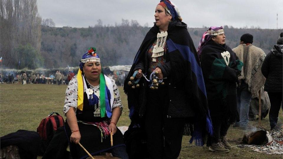 Mapuches chilenos