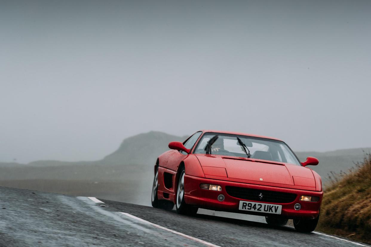 The F355 was the first in a new line of Ferrari models