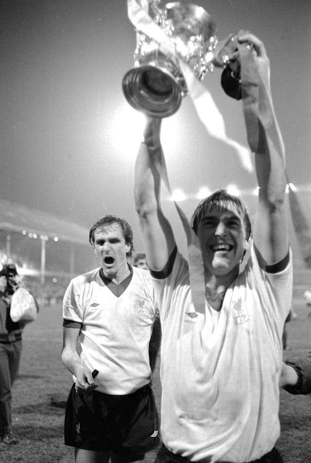 Liverpool win the League Cup in 1981
