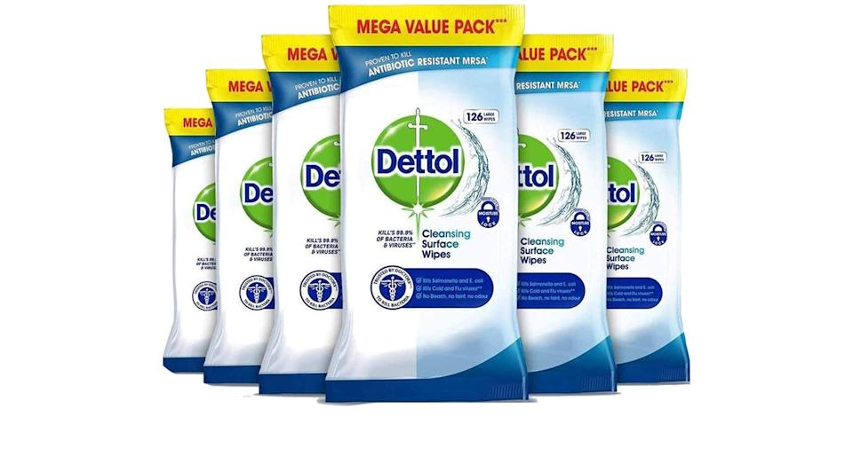 Dettol Wipes Antibacterial Bulk Surface Cleaning