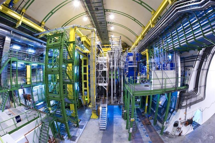 Image of the LHCb experiment.