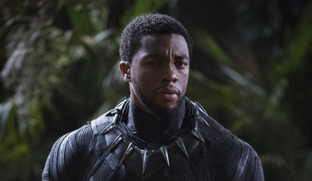 Chadwick Boseman as T'Challa in
