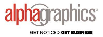 AlphaGraphics Logo (PRNewsfoto/AlphaGraphics, Inc.)