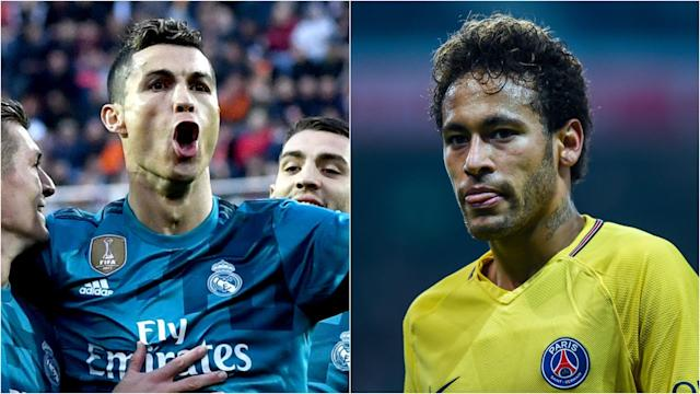 Talk of the Brazil international forward leaving PSG has ramped up once more, with those at the Santiago Bernabeu doing little to curb the rumours