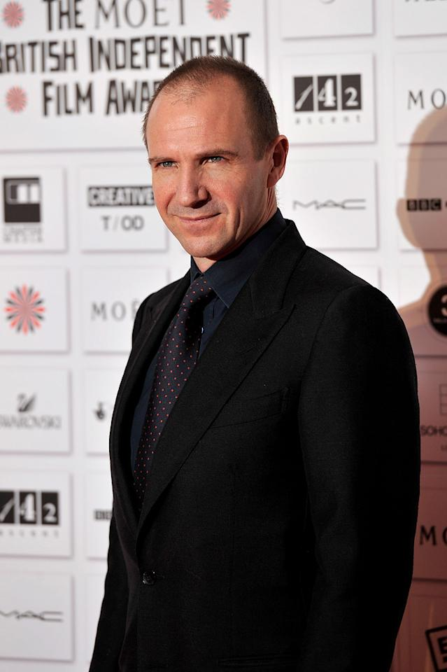 "<a href=""http://movies.yahoo.com/movie/contributor/1800019488"">Ralph Fiennes</a> attends the Moet British Independent Film Awards on December 5, 2010."
