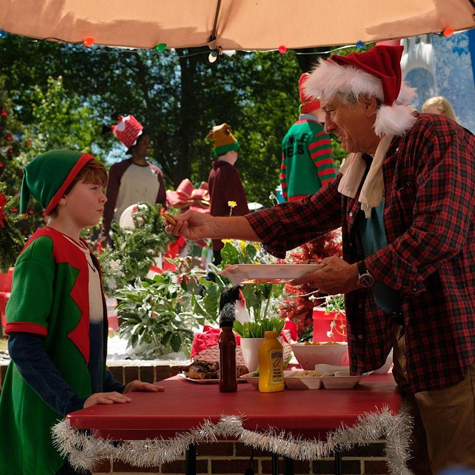 """<p>Only those who appreciate goofy family-friendly slapstick need enlist to <em>The War with Grandpa</em>. Set over the Christmas holiday, the comedy gives Robert De Niro, Christopher Walken, Jane Seymour, and so many more full rein to go wild on-screen. About a kid who isn't okay with his gramps laying claim to his bedroom, <em>The War</em> <a href=""""https://qz.com/1747953/the-decline-of-robert-de-niros-career-according-to-metacritic/"""" rel=""""nofollow noopener"""" target=""""_blank"""" data-ylk=""""slk:might bomb"""" class=""""link rapid-noclick-resp"""">might bomb</a> with critics, but when it's 2020 and we're stuck indoors for yet another season, we'll take any laughs we can get.</p><p><strong>Look for it: </strong>In theaters now</p>"""