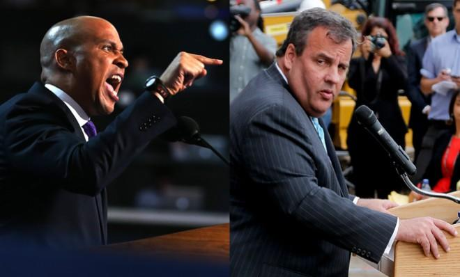 Chris Christie has got one eye over his shoulder.