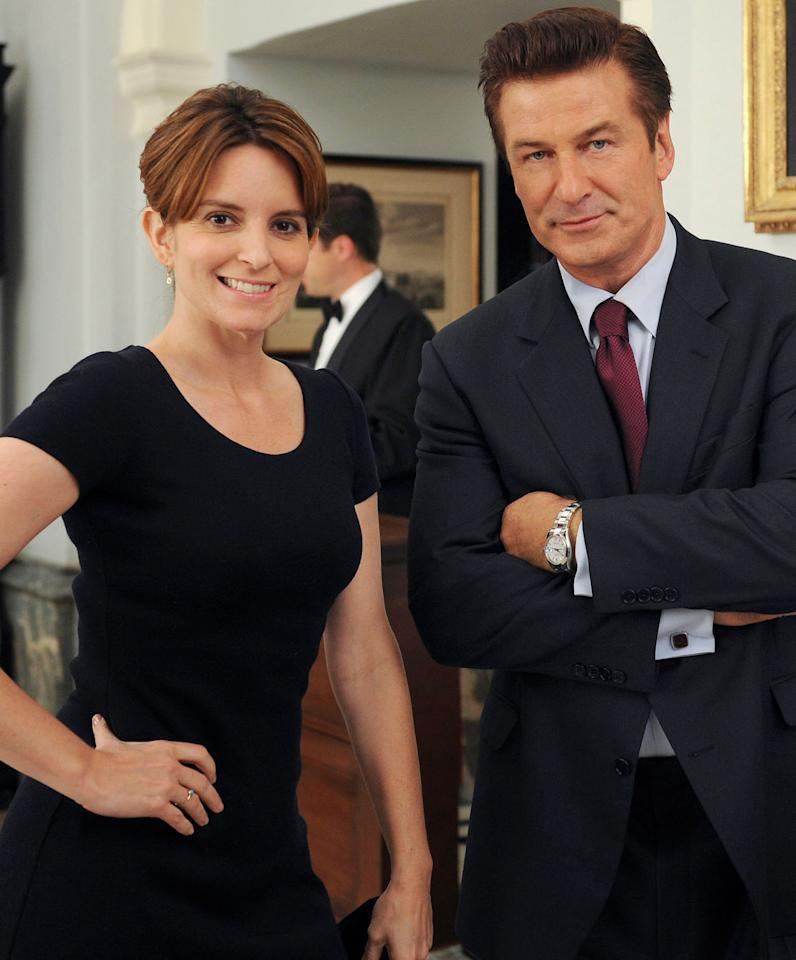 "<p><b>""When I first met Tina Fey … I fell in love.""</b>- Alec Baldwin, on <a rel=""nofollow"" href=""http://people.com/celebrity/alec-baldwin-recalls-first-meeting-tina-fey/"">his initial meeting</a> with his future <i>30 Rock</i> costar, in his memoir <em>Nevertheless</em></p>"