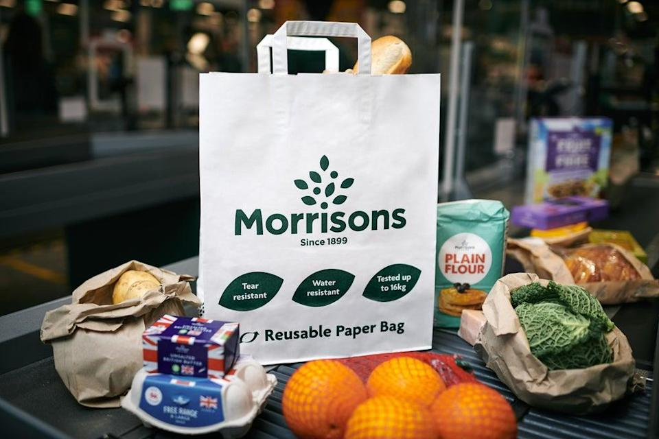 Morrisons has agreed a £7 billion takeover deal (Morrisons/PA) (PA Media)
