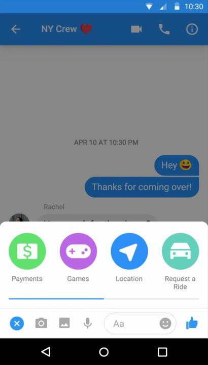 facebook messenger tips and tricks group payments