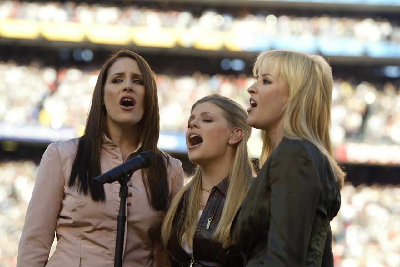 """<p>After an eight-year hiatus, the Dixie Chicks are back with a new album to follow up<strong> Taking the Long Way</strong>, their seventh album, which garnered five Grammy wins. According to lead singer Natalie Maines, the album <strong>Gaslighter</strong> was partially inspired by her <a href=""""https://www.rollingstone.com/music/music-country/dixie-chicks-natalie-maines-divorce-album-gaslighter-887858/"""" style=""""background-color: rgb(255, 255, 255);"""" target=""""_blank"""" class=""""ga-track"""" data-ga-category=""""Related"""" data-ga-label=""""https://www.rollingstone.com/music/music-country/dixie-chicks-natalie-maines-divorce-album-gaslighter-887858/"""" data-ga-action=""""In-Line Links"""">divorce from Adrian Pasdar</a>. It's being produced by Jack Antonoff, who has collaborated with musicians such as Lorde and <a class=""""sugar-inline-link ga-track"""" title=""""Latest photos and news for Taylor Swift"""" href=""""https://www.popsugar.com/Taylor-Swift"""" target=""""_blank"""" data-ga-category=""""Related"""" data-ga-label=""""https://www.popsugar.com/Taylor-Swift"""" data-ga-action=""""&lt;-related-&gt; Links"""">Taylor Swift</a>. </p> <p><strong>Release date</strong>: TBA</p>"""