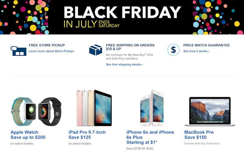 outlet store 149ad c1452 Save $200 on iPhones (and a bunch of other stuff) in Best Buy's 2 ...