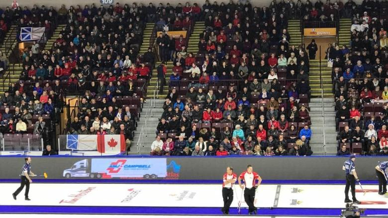 Fans fill the stands at 2017 Brier in St. John's; attendance up over last year