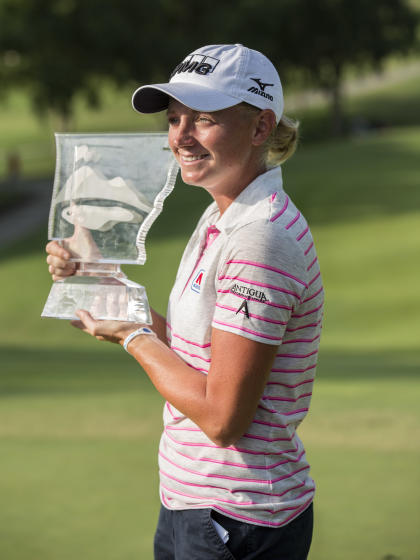 Stacy Lewis won the LPGA's NW Arkansas Championship. (AP)
