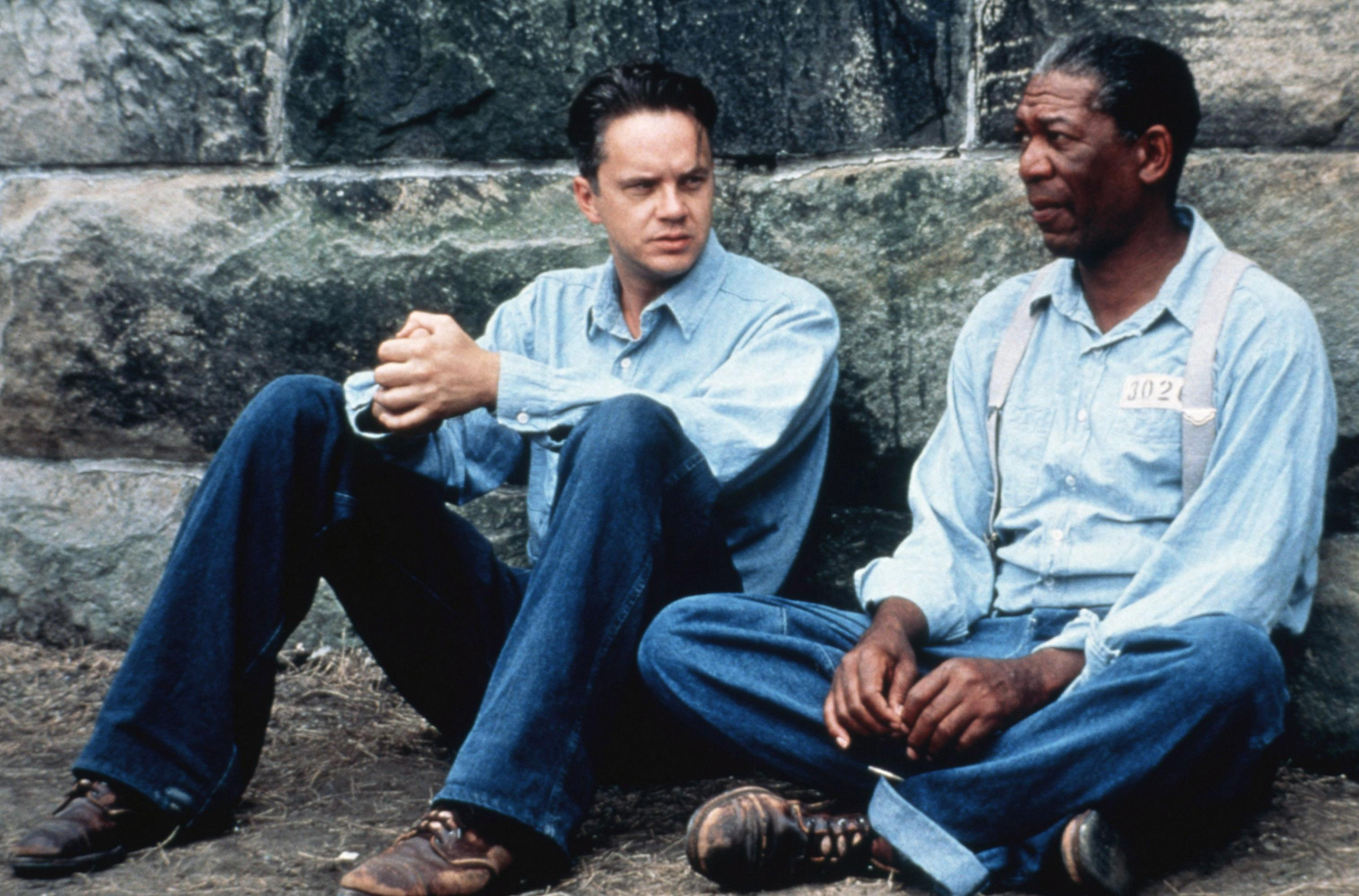 Tim Robbins and Morgan Freeman in 'The Shawshank Redemption' (Photo: Columbia/courtesy Everett Collection)