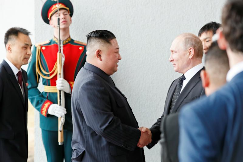 Spurned by Washington, North Korea's Kim Seeks a Friend in Putin at Their First Summit
