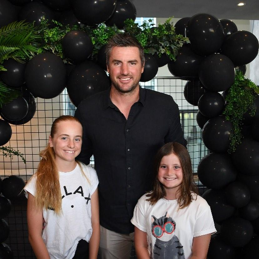 Darren Jolly and his kids