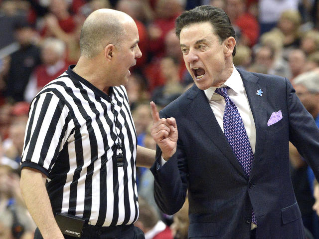 Former Louisville coach Rick Pitino filed suit against Adidas on Tuesday (AP)