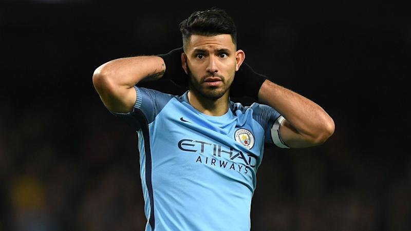Which Man Utd player would Aguero have at City? None of them!