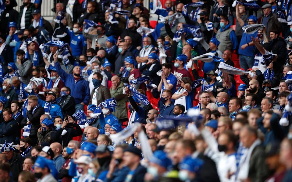 Fans returning to the stadium made all the difference at Wembley - PA