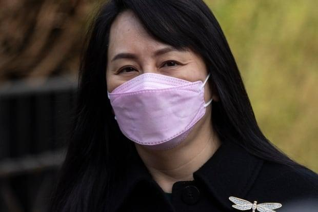 Huawei chief financial officer Meng Wanzhou is fighting extradition to the United States in B.C. Supreme Court. Her lawyers claim RCMP and CBSA officers conspired against her. (Ben Nelms/CBC - image credit)