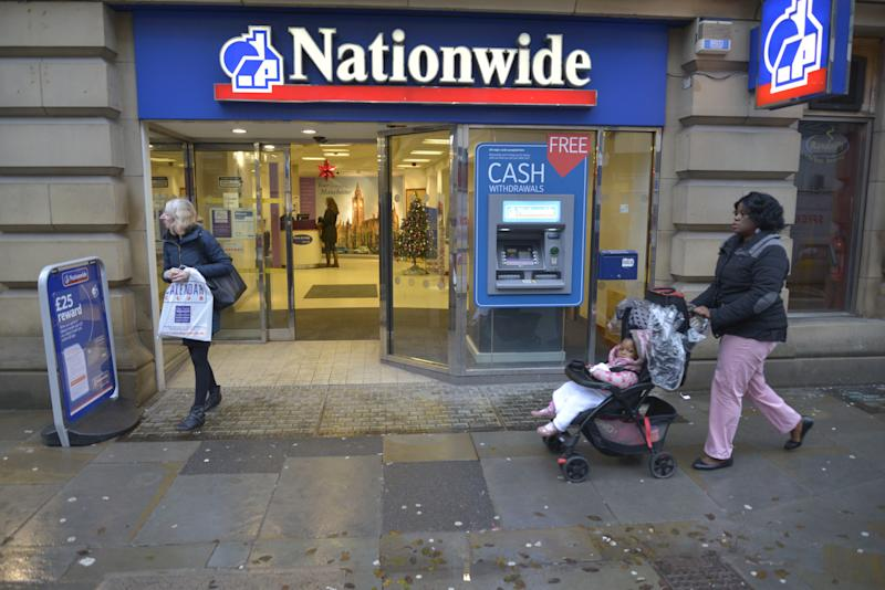 A branch of the Nationwide Building Society trading in Manchester, England, on Tuesday 1st December 2015. (Photo by Jonathan Nicholson/NurPhoto) (Photo by NurPhoto/NurPhoto via Getty Images)