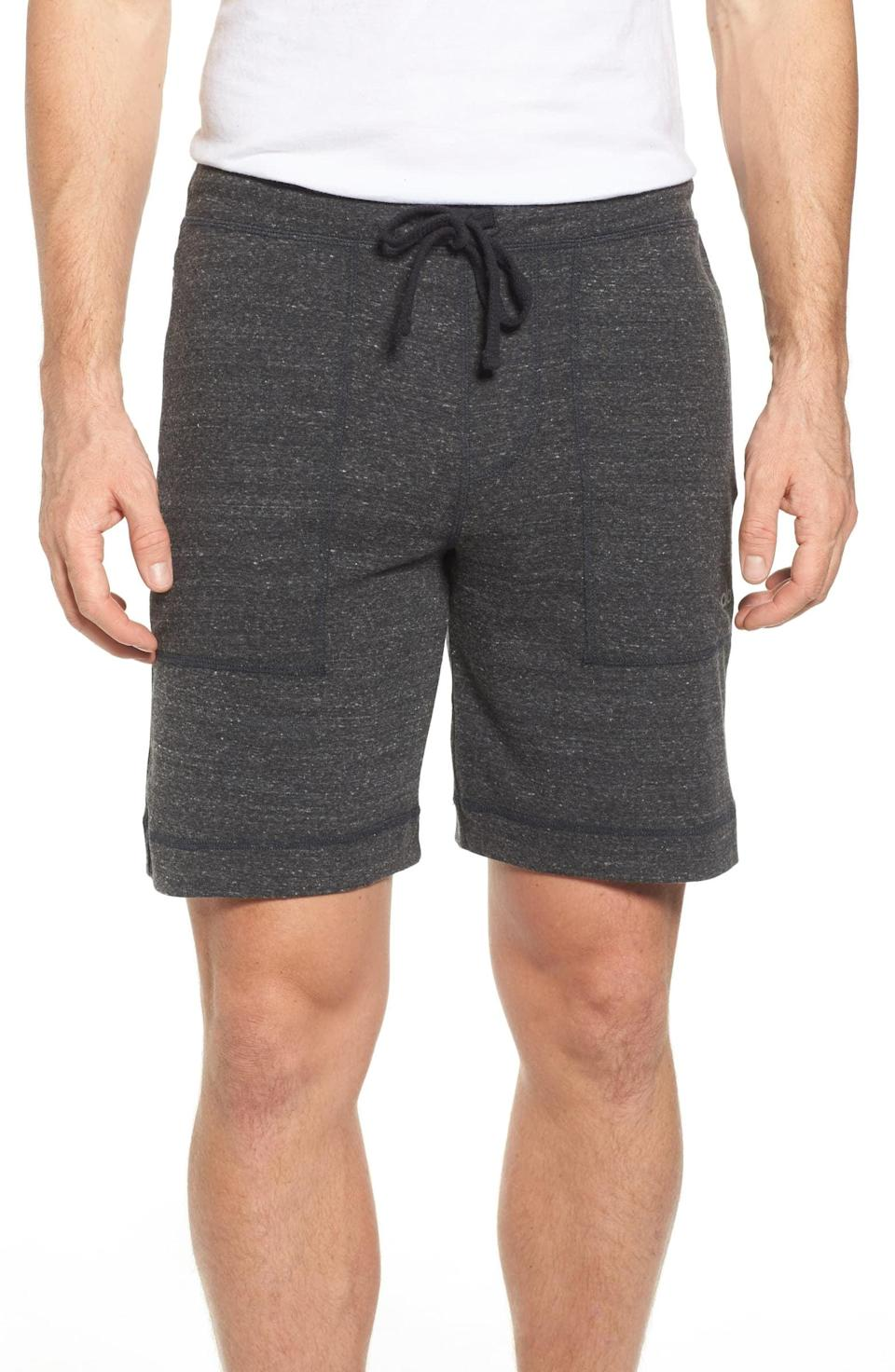 <p>If he loves to work out, he'll want to wear these <span>Alo Revival Relaxed Knit Shorts</span> ($58) all the time.</p>