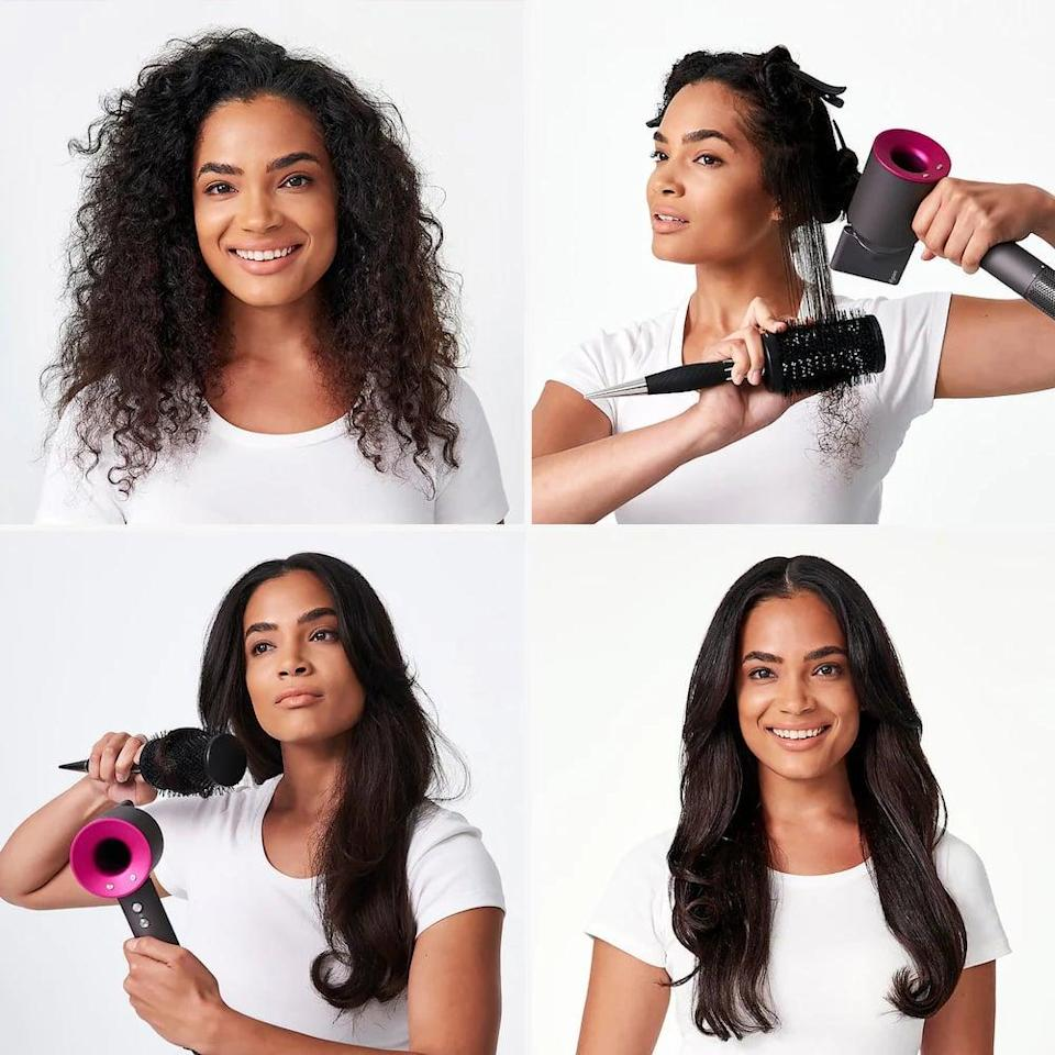 """<p>""""I didn't comprehend just how happy a hair dryer could make me until I got the <span>Dyson Supersonic Hair Dryer</span> ($400). It's pricey, but it's worth every single penny in my opinion. It cuts drying time in half and helps reduce the amount of frizz in my waves. The cult-following it has is well-earned."""" - Jessica Harrington, associate editor, Beauty</p>"""