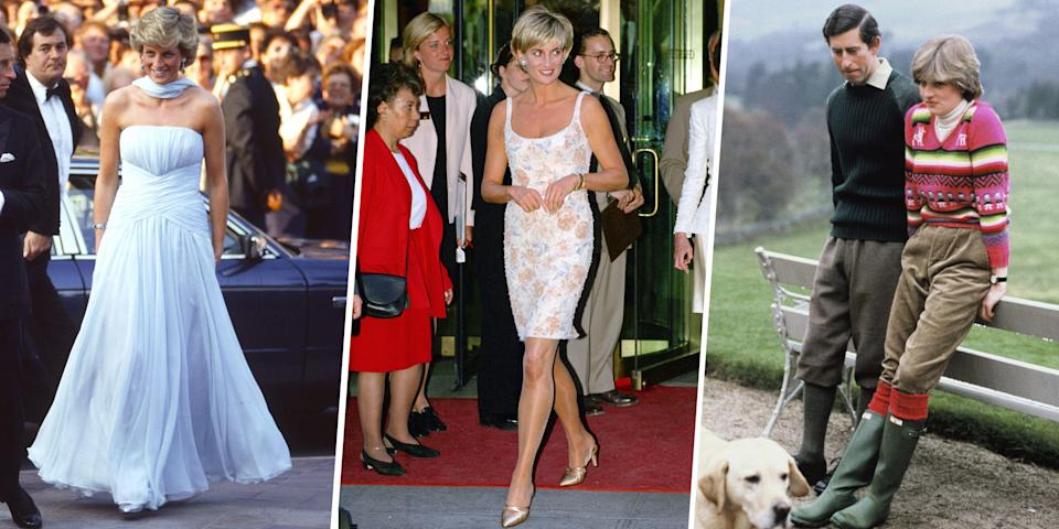 <p>Innately tied to her memory is Princess Diana's fashion sense, which changed as she grew into her role as as a beloved public figure. Here, a look back at 75 of her chicest outfits. </p>