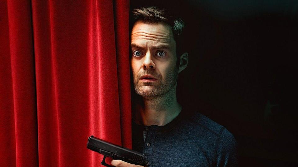 "<p>Bill Hader might have been strong on <em>Saturday Night Live</em>, but his turn on HBO's <em>Barry</em> is the role he was meant for. The dark-comedy follows Hader playing the titular role, a Marine-turned-hitman who just happened to find his bliss (or, you know, get <em>closer</em> to it) by joining the theater scene in Los Angeles. The dream! Just remember to always <em>yes and...</em></p><p><a class=""link rapid-noclick-resp"" href=""https://play.hbonow.com/series/urn:hbo:series:GWmKDEwGrA8JInwEAAAL6?camp=Search&play=true"" rel=""nofollow noopener"" target=""_blank"" data-ylk=""slk:Watch Now"">Watch Now</a></p>"