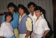 """<p>Founded in 1977, this Latin American boy band, in which members were ages 12 to 16, had a number of hits, most notably <a href=""""https://www.amazon.com/Hold-Me/dp/B019A709KO/?tag=syn-yahoo-20&ascsubtag=%5Bartid%7C10055.g.33861456%5Bsrc%7Cyahoo-us"""" rel=""""nofollow noopener"""" target=""""_blank"""" data-ylk=""""slk:""""Hold Me"""""""" class=""""link rapid-noclick-resp"""">""""Hold Me""""</a> in 1985. The group sold more than 20 million records worldwide during its heyday. Singer Ricky Martin was once a member.</p>"""
