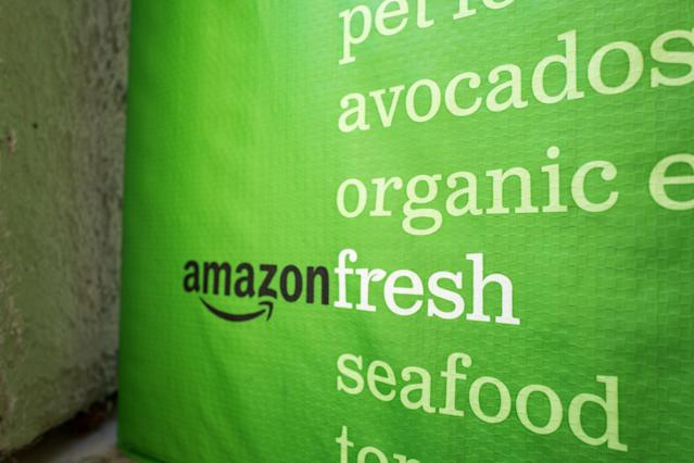 The merger of AmazonFresh and Amazon Prime may help deliver more Whole Foods products to your doorway. (Getty Images)