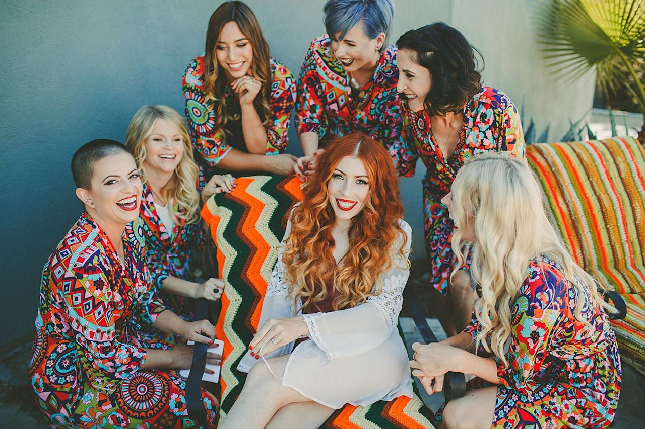 <p>A good photographer knows that plenty of special moments arise when bridesmaids get ready together. </p>