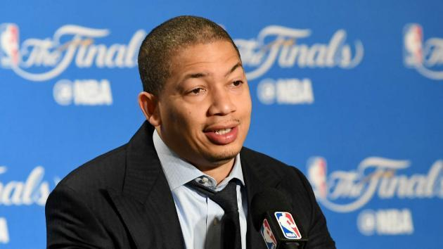 <p>NBA Finals 2017: Tyronn Lue says Cavaliers were 'too nice' at start of series</p>