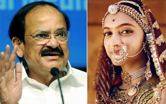 <p>Regarding the Padmavati row, Vice President Venkaiah Naidu has said that people have the right to protest in a democratic manner, but they cannot physically obstruct and give violent threats. </p><p> </p>