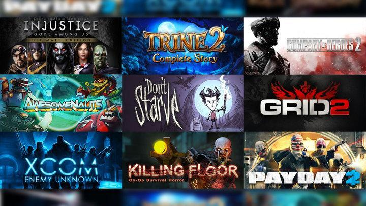 10 games are going free this weekend on Steam