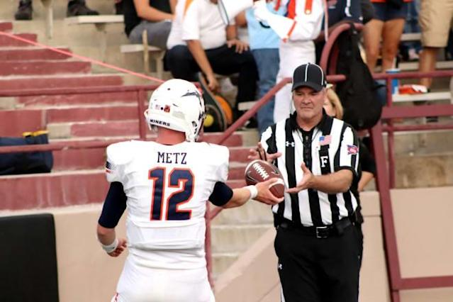 Miner Illustration of the game: UTEP at NMSU