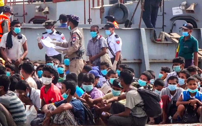 More than 1 million ethnic Rohingya have been displaced - STR/AFP