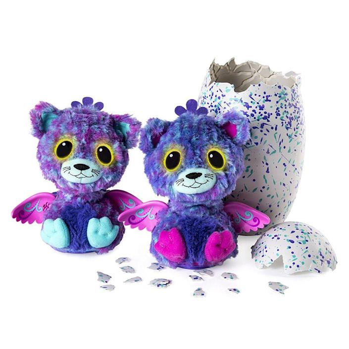 """<p><a class=""""link rapid-noclick-resp"""" href=""""https://www.amazon.com/Hatchimals-Surprise-Interactive-Hatchimal-Creatures/dp/B01N424GFS/ref=sr_1_6?tag=syn-yahoo-20&ascsubtag=%5Bartid%7C10063.g.34738490%5Bsrc%7Cyahoo-us"""" rel=""""nofollow noopener"""" target=""""_blank"""" data-ylk=""""slk:BUY NOW"""">BUY NOW</a><br></p><p>These hatching little furry friends are still popular among kids today, but in 2016, they were sold out everywhere. The idea for this self-opening toy came from the popularity of unboxing videos on YouTube. After the first launch in October 2016, Hatchimals quickly became the hottest toy that holiday season.</p>"""
