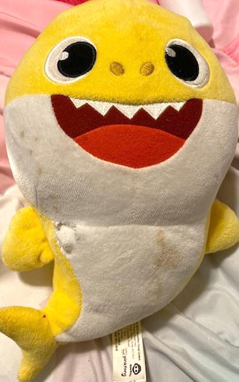 'Baby Shark' Stuffed Toy Possibly Saves Wisc. Toddler's Life After Stray Bullet Rips Through Wall